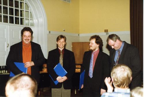 1999-01-27 Nytårsgalla - Den Danske Vokal Kvartet  - Micahel  M Christensen-Michael T Lind-Paul Frederiksen-Olof Bommelund Hansen004