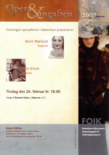 2002-02-26 - Berit Mæland-Tom Ernst