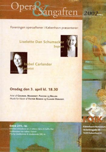 2002-04-03 - Liselotte Dan Schumacker-Isabel Carlander