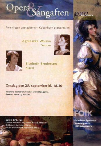 2002-09-25 - Agnieszka Wolska-Elsebeth Brodersen