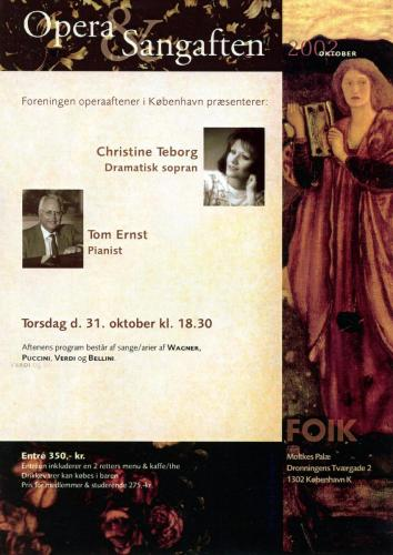 2002-10-31 - Christine Teborg-Tom Ernst