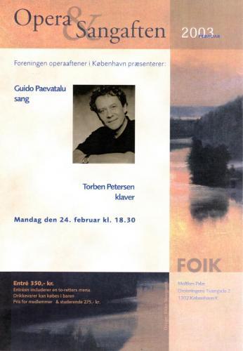 2003-02-24 - Guido Pavetalu-Torben Petersen