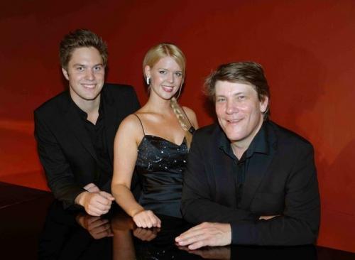 2008 09 02 Ina Kringlebotn, sopran og Ludvig Lindstöm, bas, akkompagneret af pianist Christen Stubbe Teglbjerg