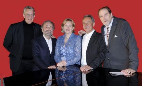 2010 10 12 Poul Elming - Semion Balschem - Sola Braga - Guido Paevatala - Friedrich Gørtler