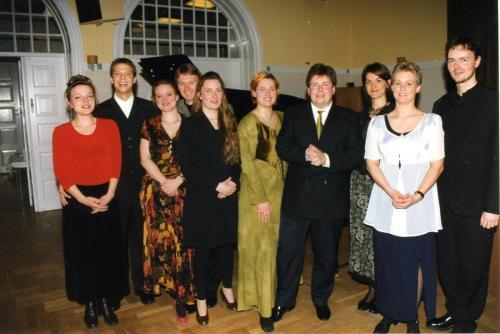 1999-04-21 Maria Lantz-Morten Kramp-Anne Brandt-Rasmus Tofte-Hansen-Ellen Jacobsen-Elenor Wiman-Ulrik Stærk-Radmila Rajic-Anne Aaen-Ole Jegindø Norup
