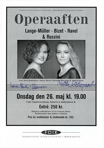 1999-05-26 Lene Buch Rasmussen-Mette Christina Østergaard