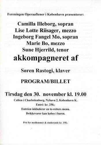 1999-11-30 Konservatoriet - Elever